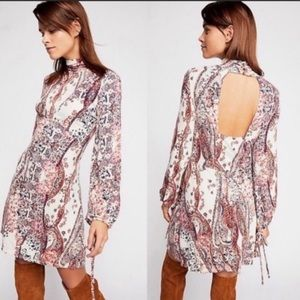 Free People All Dolled Up Mini Dress